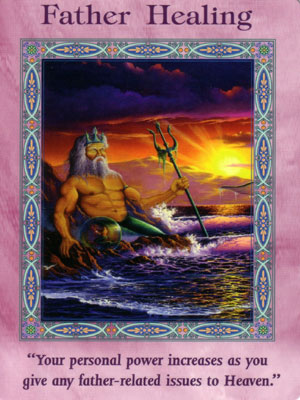 Father Healing Card Extended Description - Mermaids and Dolphins Oracle Cards by Doreen Virtue