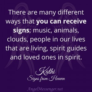 Kathi on Signs from Heaven - June 2015