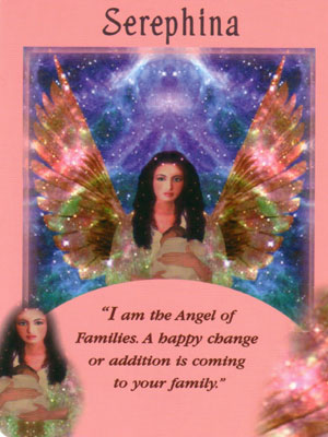 Serephina Angel Card Extended Description - Messages from Your Angels Oracle Cards by Doreen Virtue