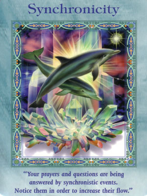 Syncronicity Card Extended Description - Mermaids and Dolphins Oracle Cards by Doreen Virtue