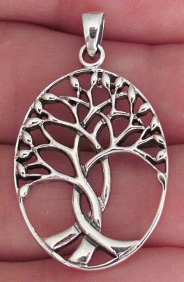 3 branch tree pendant