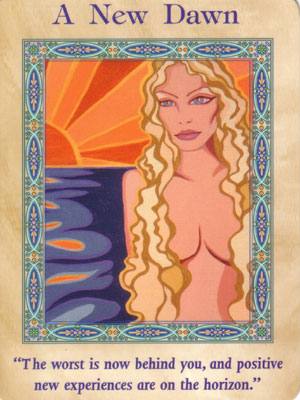 A New Dawn Card Extended Description - Magical Mermaids & Dolphins Oracle Cards by Doreen Virtue