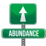 abundance road sign illustration design