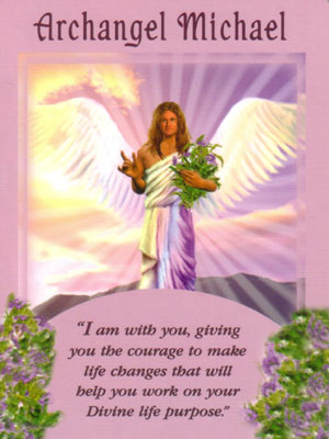 Archangel Michael Angel Card Extended Description - Messages from Your Angels Oracle Cards by Doreen Virtue