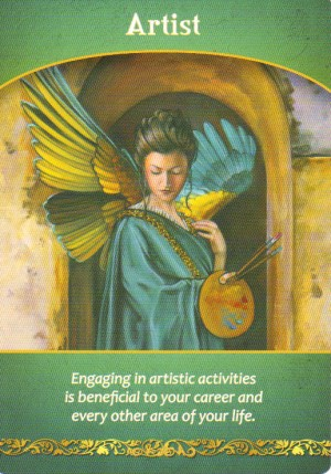 Artist Oracle Card Extended Description - Life Purpose Oracle Cards by Doreen Virtue