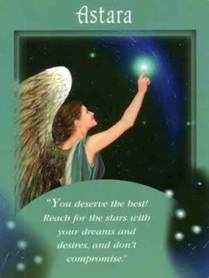 Astara Angel Card Extended Description - Messages from Your Angels Oracle Cards by Doreen Virtue