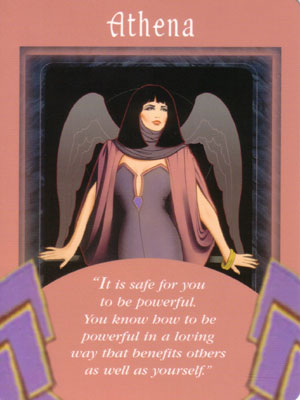 Athena Angel Card Extended Description - Messages from Your Angels Oracle Cards by Doreen Virtue