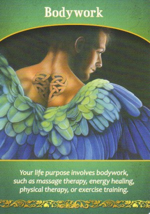 Bodywork Oracle Card Extended Description - Life Purpose Oracle Cards by Doreen Virtue