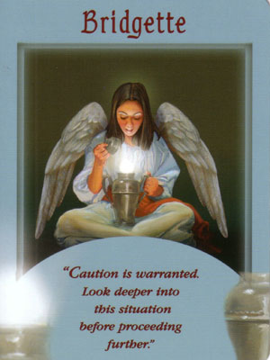 Bridgette Angel Card Extended Description - Messages from Your Angels Oracle Cards by Doreen Virtue