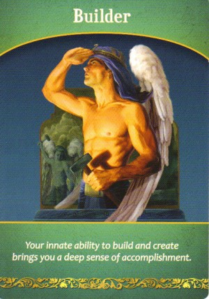 Builder Oracle Card Extended Description - Life Purpose Oracle Cards by Doreen Virtue