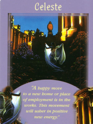 Celeste Angel Card Extended Description - Messages from Your Angels Oracle Cards by Doreen Virtue