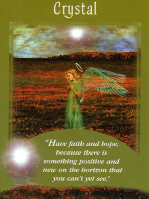 Crystal Card Extended Description - Messages from Your Angels Oracle Cards by Doreen Virtue