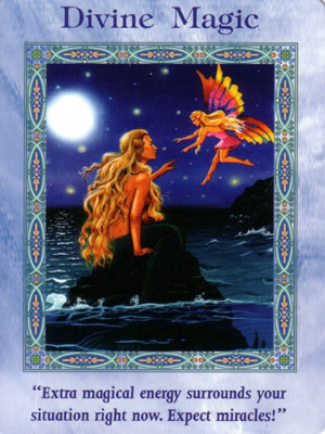 Divine Magic Card Extended Description - Mermaids and Dolphins Oracle Cards by Doreen Virtue