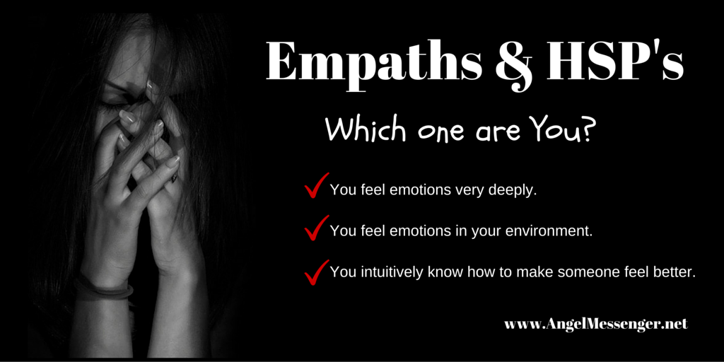 Empaths & HSP's, Which one are You?