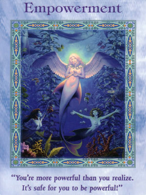 Empowerment Card Extended Description - Mermaids and Dolphins Oracle Cards by Doreen Virtue