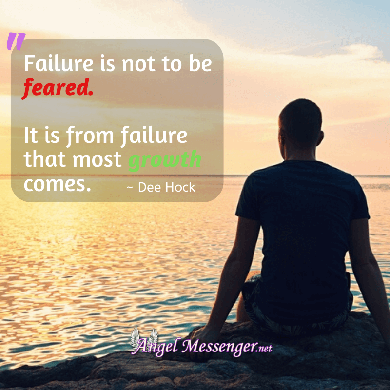 Failure is not to be feared. It is from failure that most growth comes.- inspiration quote
