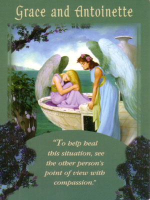 Grace and Antoinette Angel Card Extended Description - Messages from Your Angels Oracle Cards by Doreen Virtue