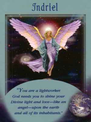 Indriel Angel Card Extended Description - Messages from Your Angels Oracle Cards by Doreen Virtue