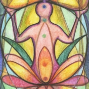 Infinity Lotus Chakra Art