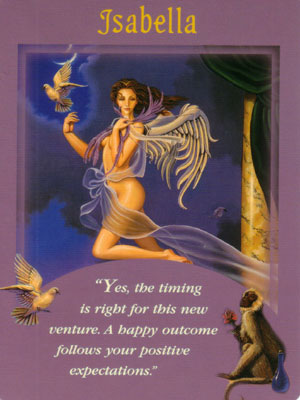 Isabella Angel Card Extended Description - Messages from Your Angels Oracle Cards by Doreen Virtue