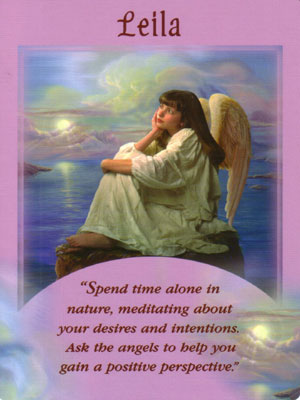 Leila Angel Card Extended Description - Messages from Your Angels Oracle Cards by Doreen Virtue