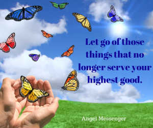 Letting Go - Butterflies are a Symbol of Change and Transformation