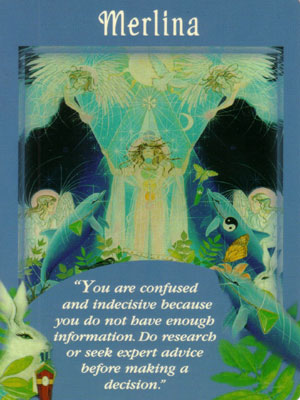 Merlina Angel Card Extended Description - Messages from Your Angels Oracle Cards by Doreen Virtue