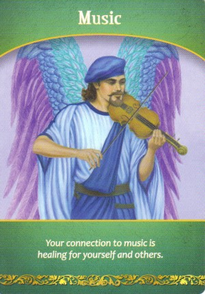 Music Oracle Card Extended Description - Life Purpose Oracle Cards by Doreen Virtue