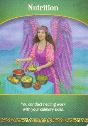 Nutrition Oracle Card Extended Description - Life Purpose Oracle Cards by Doreen Virtue