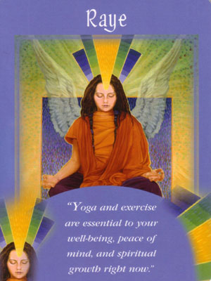 Raye Angel Card Extended Description - Messages from Your Angels Oracle Cards by Doreen Virtue