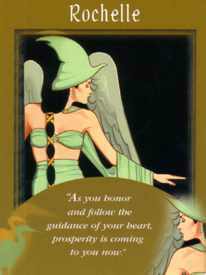 Rochelle Angel Card Extended Description - Messages from Your Angels Oracle Cards by Doreen Virtue
