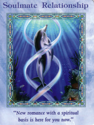 Soulmate Card Extended Description - Mermaids and Dolphins Oracle Cards by Doreen Virtue