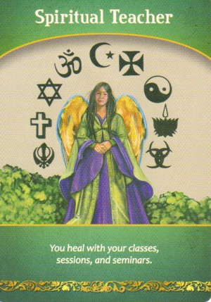 Spiritual Teacher Oracle Card Extended Description - Life Purpose Oracle Cards by Doreen Virtue