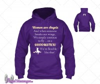 Women are Angels Sweatshirt