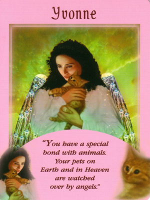 Yvonne Angel Card Extended Description - Messages from Your Angels Oracle Cards by Doreen Virtue
