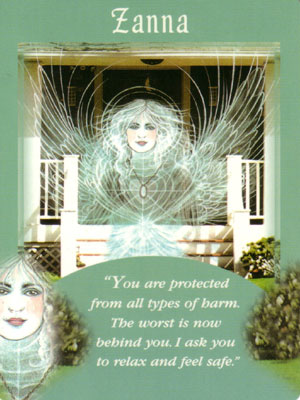 Zanna Angel Card Extended Description - Messages from Your Angels Oracle Cards by Doreen Virtue