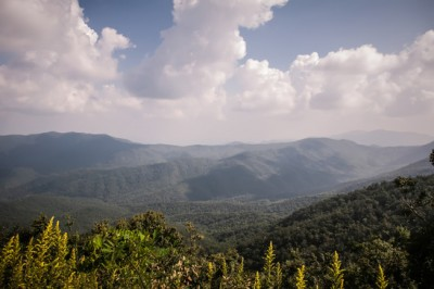 Claim it - Appalachian Mountains from Mount Mitchell, the highest point in